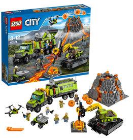 Lego City LEGO City  Vulkaan onderzoeksbasis 60124