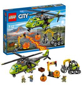Lego City LEGO City Bevoorradingshelicopter - Supply Helicopter Volcano 60123