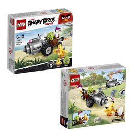 Lego Angry Birds LEGO Angry Birds Piggy auto-ontsnapping - Car Escape 75821