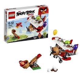 Lego Angry Birds LEGO Angry Birds Piggy Vliegtuigaanval - Plane Attack 75822