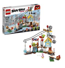 Lego Angry Birds LEGO Angry Birds Pig City Sloopfeest - Teardown  75824