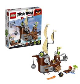 Lego Angry Birds LEGO Angry Birds Piggy Piratenschip -  Pirate Ship 75825