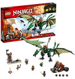 Lego Ninjago LEGO NinjagoThe Green Nrg Dragon  70593