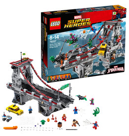 Lego Heroes LEGO Super Heroes Spider-Man Web Warriors Ultiem Brugduel - 76057