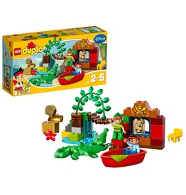 Duplo LEGO DUPLO Jake en de Nooitgedachtland Piraten Peter Pan op Bezoek - 10526