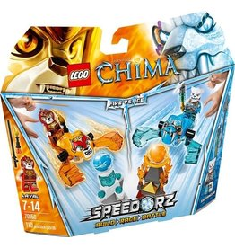 Lego Chima LEGO Chima Vuur vs. IJs - 70156