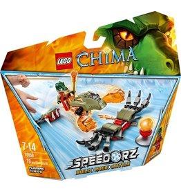 Lego Chima LEGO Chima Vlammende Klauwen - 70150