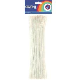 Create-It Haza Create-it 50 stuks  Chenille wit