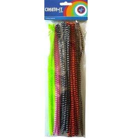Create-It Haza Create-It 50stuks  Chenille Animal mix