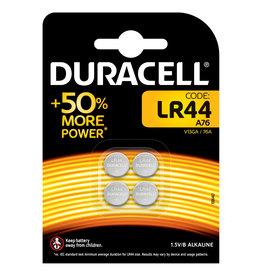 Duracell Duracell knoopcel alkaline LR44 blister 4