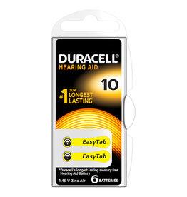 Duracell Duracell  Hoorbatterij nr. 10 (6stuks)