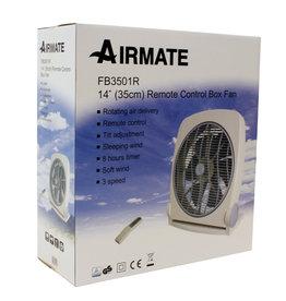 Airmate Airmate Box Ventilator FB3501R 35cm  + afstanbediening + timer
