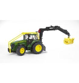 Bruder Bruder 03053 John Deere 7930 Bosbouw Tractor met Grijper (1:16)