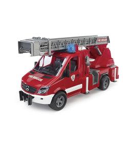 Bruder Bruder 02532 Mercedes Benz Sprinter Brandweerwagen met Ladder (1:16) + Licht- en Geluidsmodule