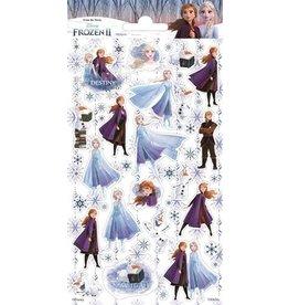Stickervel Frozen 2 glitter
