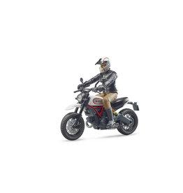 Bruder Bruder Bworld 63051 Scrambler Ducati  Sled en Berijder