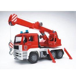 Bruder Bruder 02770 MAN Brandweer Kraanwagen (1:16) + Licht- en Geluidsmodule