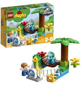 Duplo LEGO DUPLO Jurassic World Kinderboerderij met Vriendelijke Reuzen - 10879
