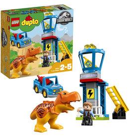 Duplo LEGO DUPLO Jurassic World T-Rex Toren - 10880