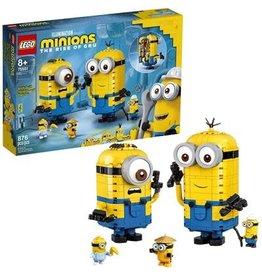 Lego Minions LEGO® Minions Minions-figuren van stenen en hun schuilplaats  75551