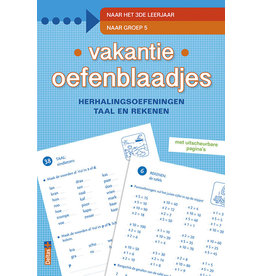 Uitgeverij Deltas Vakantie Oefenblaadjes-Naar Het 3E Leerjaar