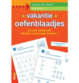 Uitgeverij Deltas Vakantie oefenblaadjes - Klaar voor het eerste leerjaar (groep 3)