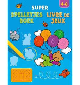 Uitgeverij Deltas Super spelletjesboek (4-6jr)