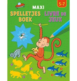 Uitgeverij Deltas Maxi spelletjesboek (5-7jr)