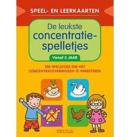 Uitgeverij Deltas Speel- en leerkaarten - De leukste concentratiespelletjes (vanaf 5jr)