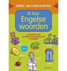 Uitgeverij Deltas Speel- en leerkaarten - Ik leer Engelse woorden