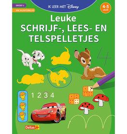 Uitgeverij Deltas Disney ik leer met - Leuke schrijf- lees- en telspelletjes (4-5jr)