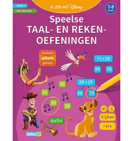 Uitgeverij Deltas Disney ik leer met - Speelse taal- en rekenoefeningen  (7-8jr)