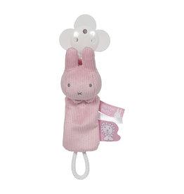 Nijntje Nijntje pink baby rib Spenenketting  NIJN613