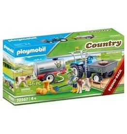 Playmobil Country Playmobil Landbouwer met maaimachine - 70367