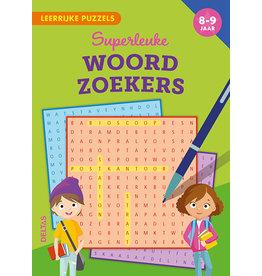 Uitgeverij Deltas Leerrijke puzzels - Superleuke woordzoekers (8-9 jaar)
