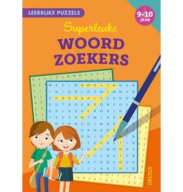 Uitgeverij Deltas Leerrijke puzzels - Superleuke woordzoekers (9-10 jaar)