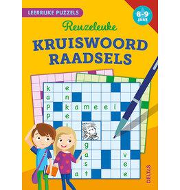 Uitgeverij Deltas Leerrijke puzzels - Reuzeleuke kruiswoordraadsels (8-9 jaar)