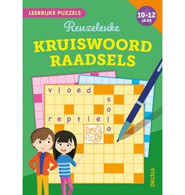 Uitgeverij Deltas Leerrijke puzzels - Reuzeleuke kruiswoordraadsels (10-12 jaar)