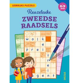 Uitgeverij Deltas Leerrijke puzzels - Reuzeleuke Zweedse raadsels (8-9 jaar)