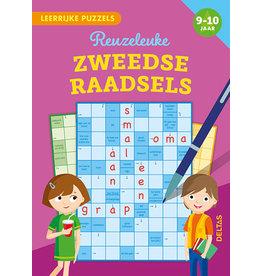 Uitgeverij Deltas Leerrijke puzzels - Reuzeleuke Zweedse raadsels (9-10 jaar)
