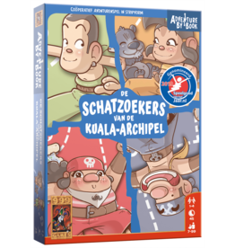 999 Games 999 Games: Adventure By Book: De Schatzoekers van de Kuala-archipel