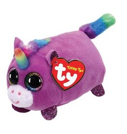 Ty Ty Teeny Ty's Rosette Unicorn 10cm