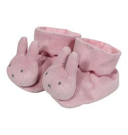 Nijntje Nijntje pink babyrib boxpantoffels  NIJN605