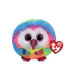 Ty Ty Teeny Puffies Owen Owl 8cm