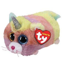 Ty Ty Teeny Ty's Heather de Eenhoorn Kat 10cm