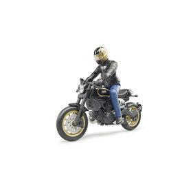 Bruder Bruder Bworld 63050 Scrambler Ducati  Cafe Racer en Berijder