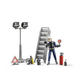 Bruder Bruder Bworld 62700 Brandweerman met Accessoires