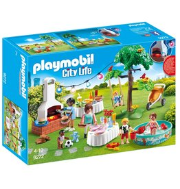Playmobil PLAYMOBIL City Life Familiefeest met barbecue - 9272