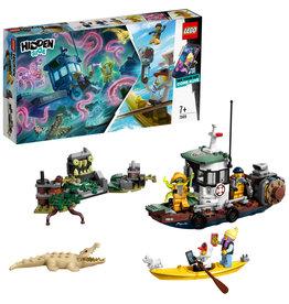 LEGO Hidden Side Schipbreuk met Garnalenboot - 70419