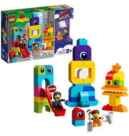 Duplo LEGO DUPLO The Movie 2 Visite voor Emmet en Lucy van de DUPLO Planeet - 10895